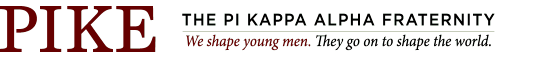 The Pi Kappa Alpha International Fraternity Logo